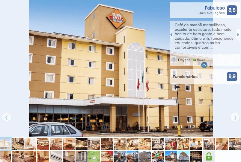 Hotéis de luxo em Blumenau: Hotel 10 Blumenau