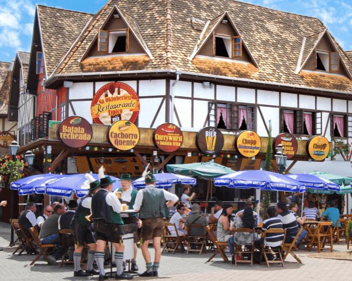 Festival da Cerveja em Blumenau: Bier Vila