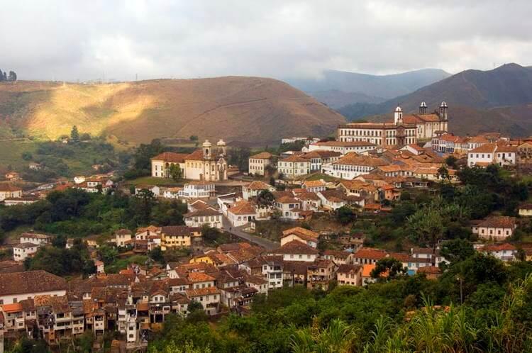 Montanhas de Ouro Preto