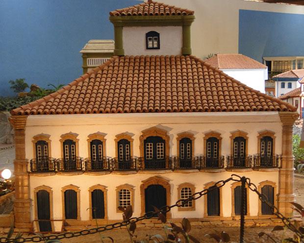Réplica da Casa dos Contos em Ouro Preto