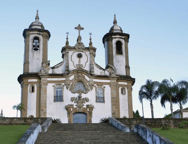 Igreja Nossa Senhora do Carmo em Ouro Preto