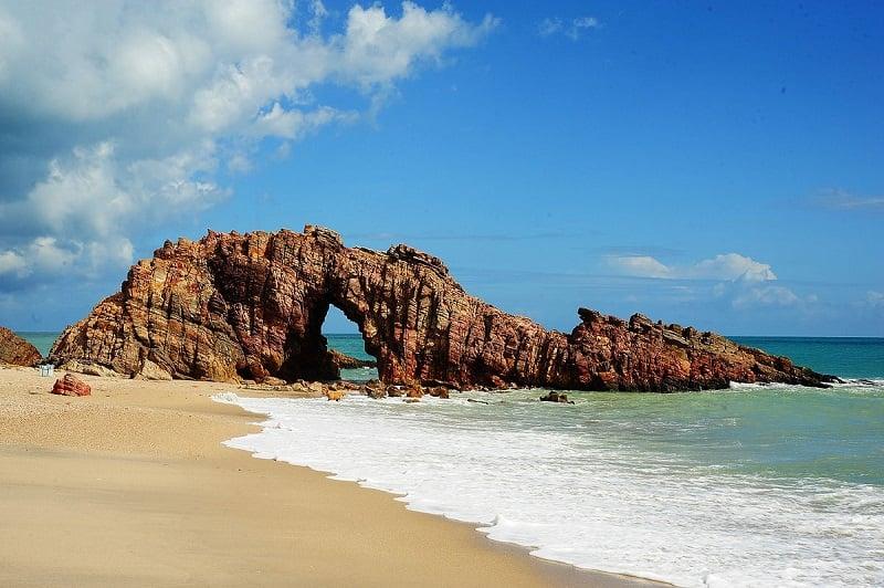 Praia de Jericoacoara em Fortaleza