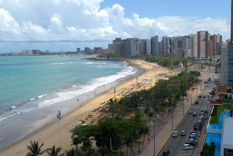 Melhores praias em Fortaleza