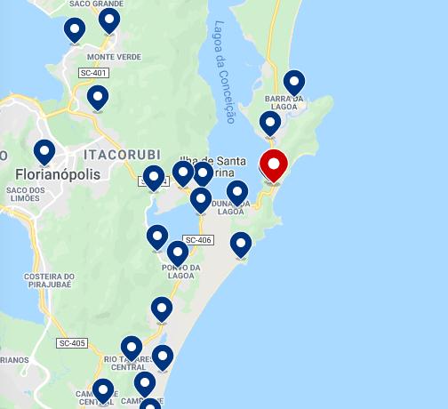 Leste de Florianópolis