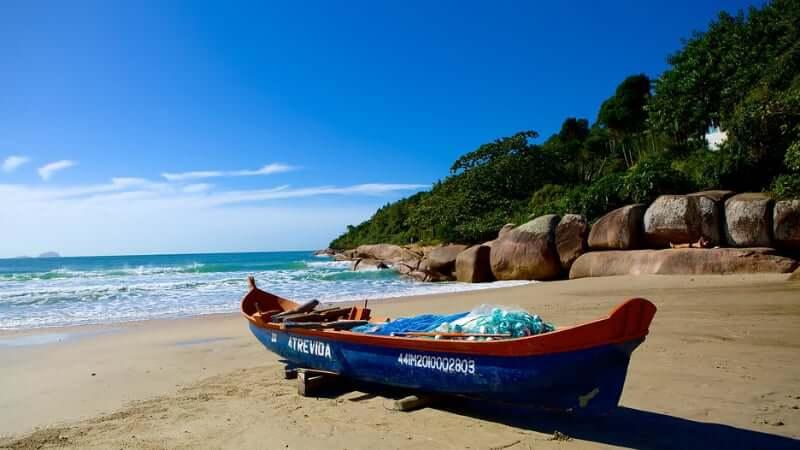 Melhores praias em Florianópolis