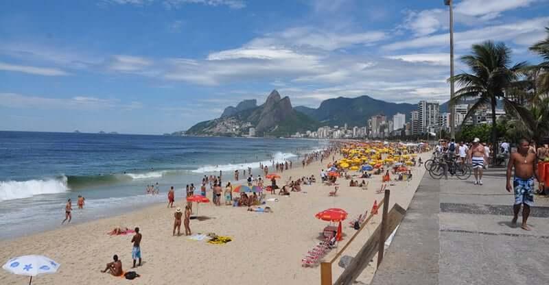 Alta temporada no Rio de Janeiro