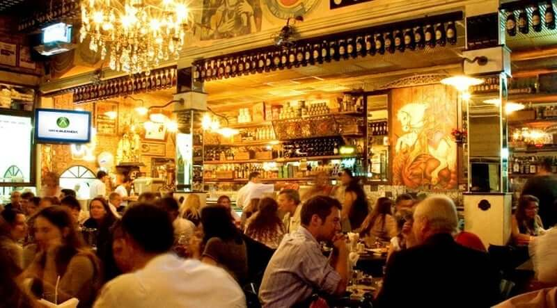 Restaurante no Rio de Janeiro