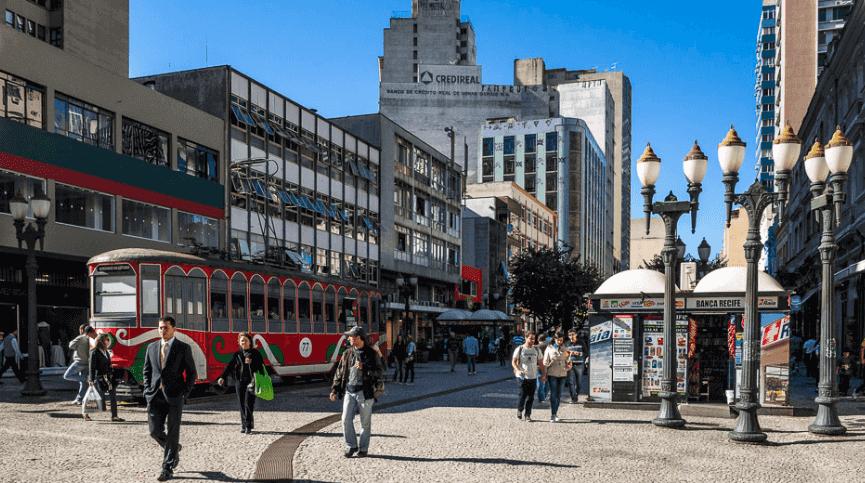 Hotéis no centro turístico de Curitiba