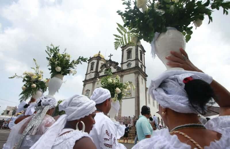Lavagem do Bonfim em Salvador