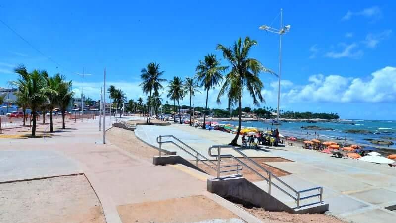 Praia de Piatã em Salvador: