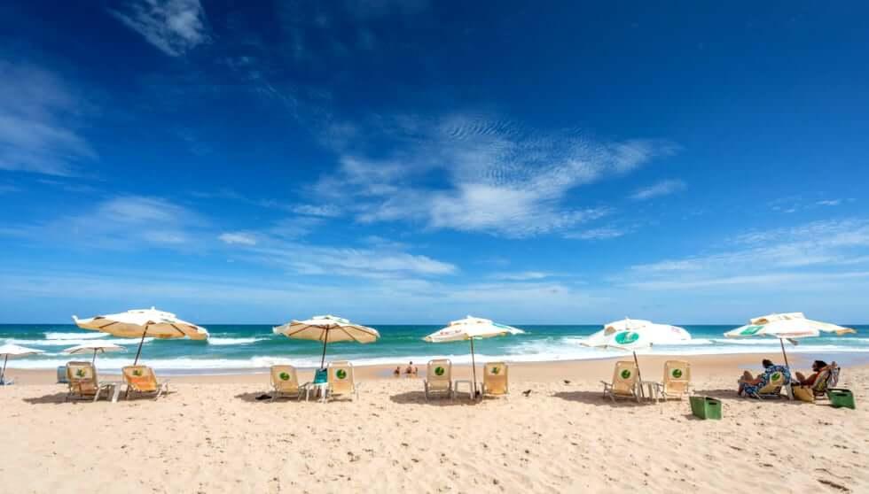 Praia Stella Maris em Salvador