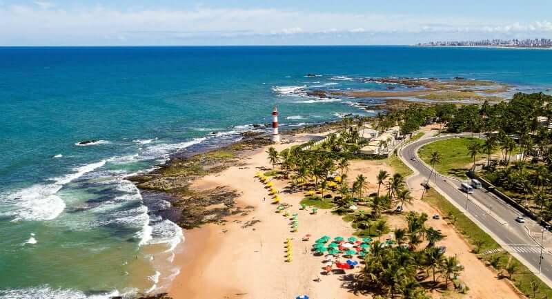 Praia em Salvador