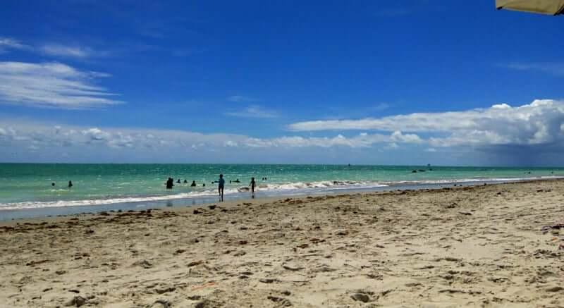 Praia de Jaguaribe em Salvador