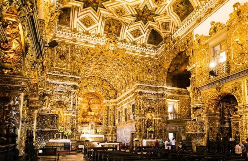 Igreja e Convento de São Francisco em Salvador