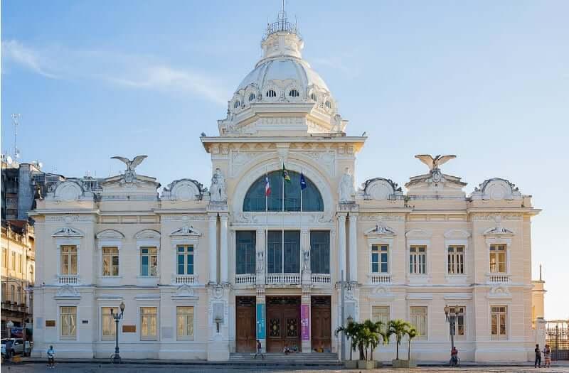 Palácio Rio Branco em Salvador: