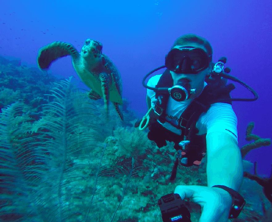 Mergulho em Balneário Camboriú
