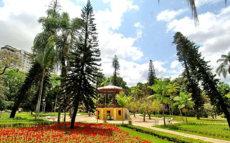 Parque Municipal Américo Renné Giannetti em Belo Horizonte