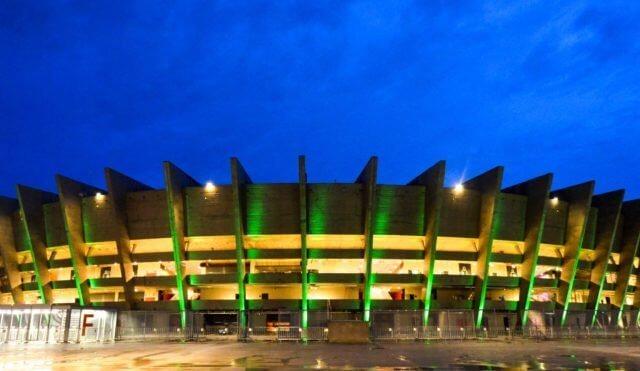 Estádio Governador Magalhães Pinto em Belo Horizonte