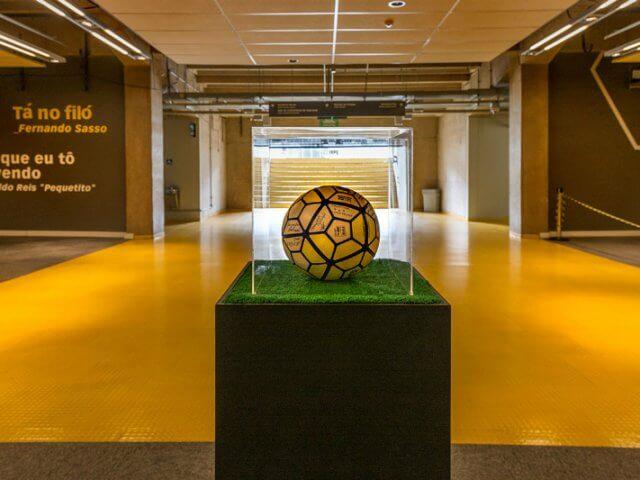 Museu Brasileiro do Futebol em Belo Horizonte
