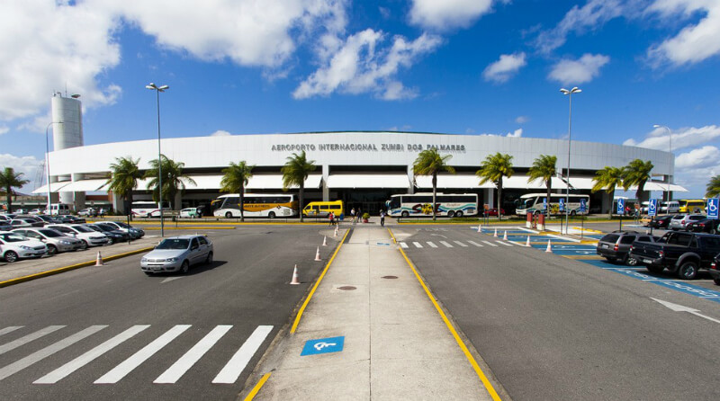 Entrada do Aeroporto de Maceió