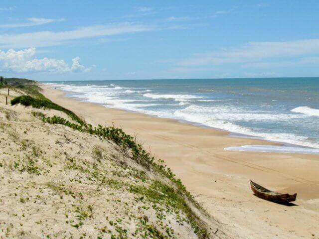 Praia de Riacho Doce em Maceió