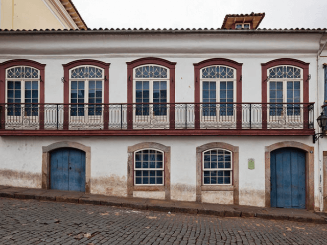 Praça Tiradentes em Ouro Preto