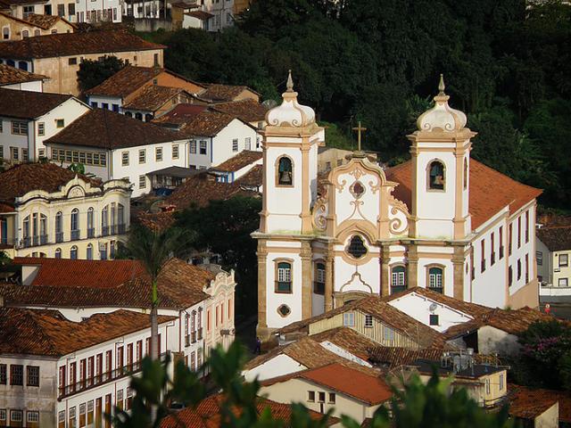 Basílica de Nossa Senhora do Pilar em Ouro Preto