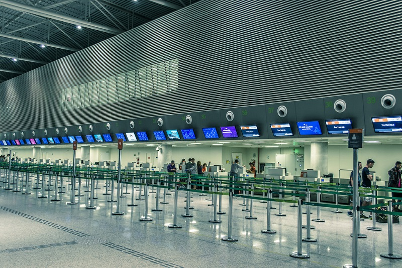 Interior do Aeroporto de Natal