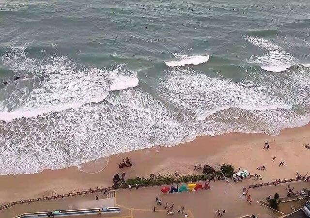 Praia da Areia Preta em Natal
