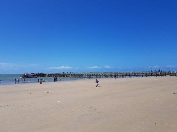 Praia de Pirangi do Norte em Natal