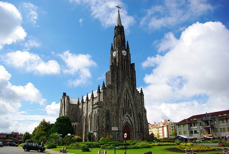 Catedral Nossa Senhora de Lourdes em Canela