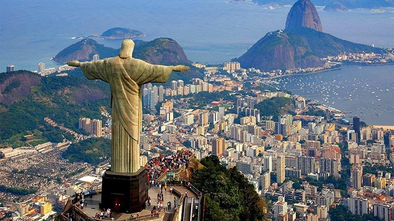 Imagem aérea do Rio de Janeiro