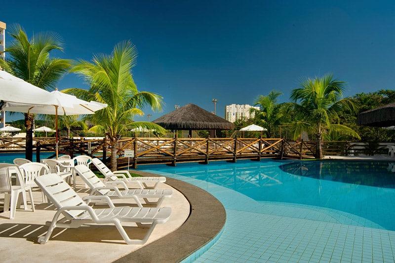 Piscina do Hotel Best Western Suites Le Jardin Caldas Novas