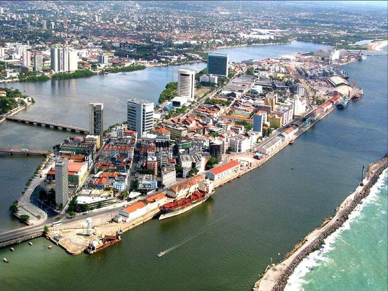 Cais do Porto em Recife