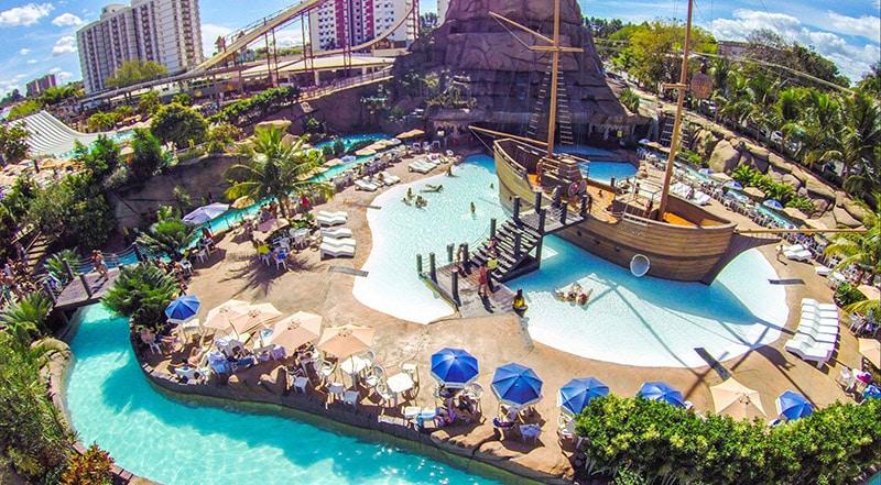 Parque aquático de Caldas Novas