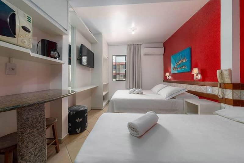 Suíte do Hotel & Pousada Favareto em Florianópolis