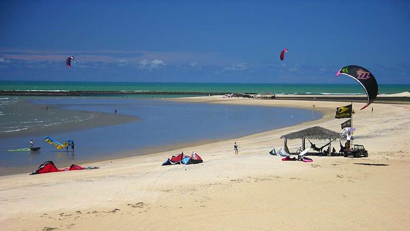 Kiteboarding em São Miguel do Gostoso