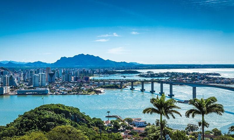 Beleza da cidade de Vitória