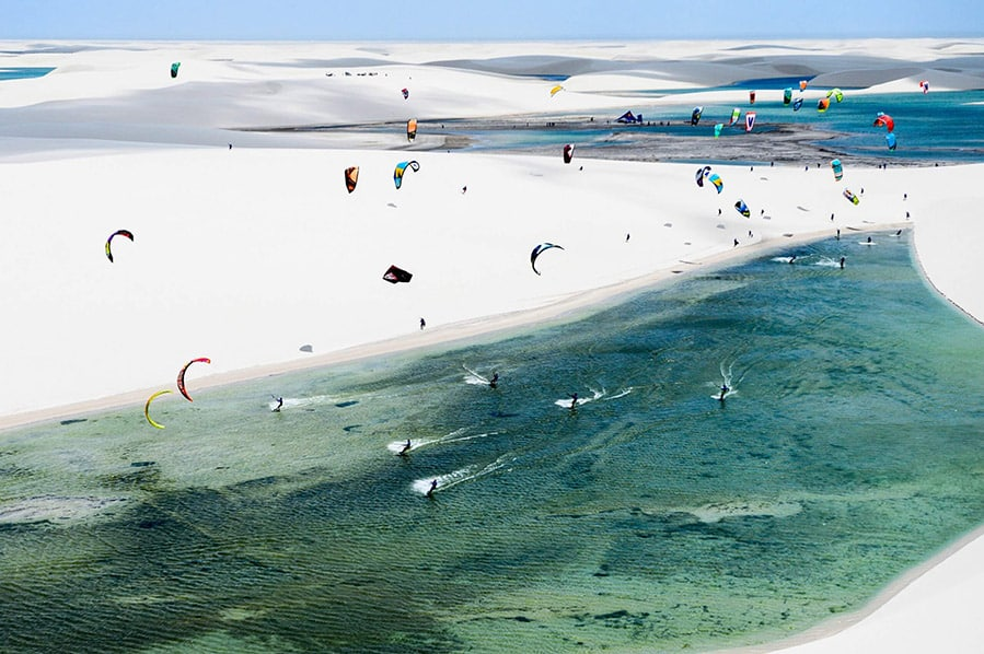 Kitesurfing em Jericoacoara