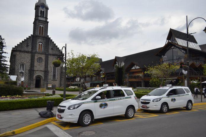 Táxi em Gramado