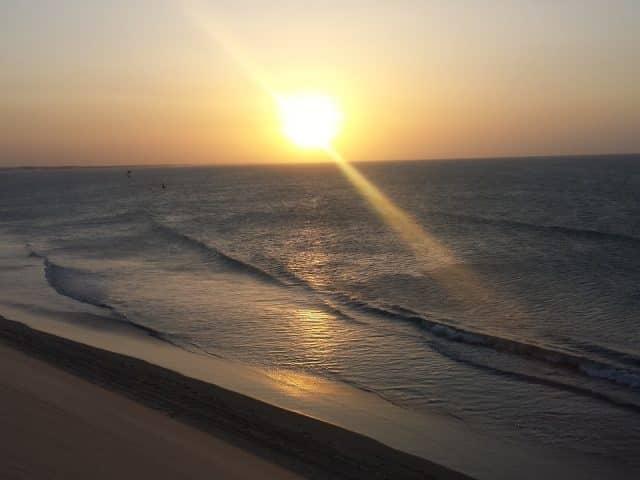 Onde ver o pôr do sol em Jericoacoara