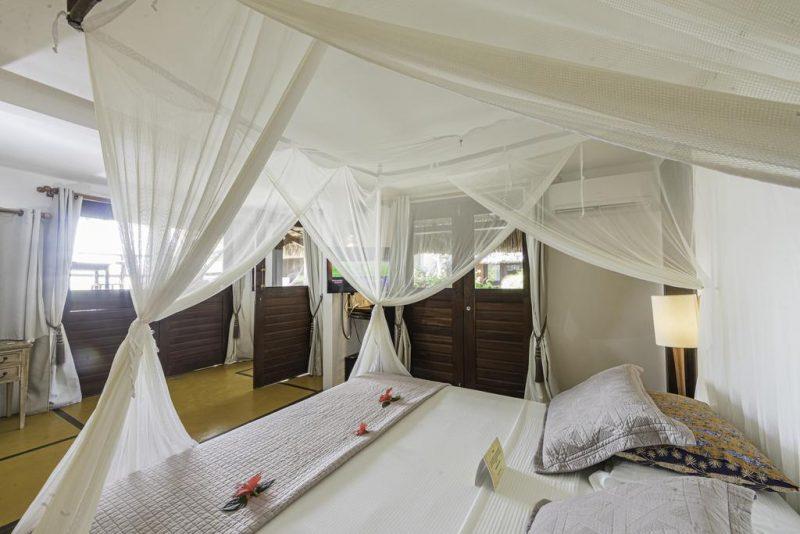 Quarto de hotel de luxo em Jericoacoara