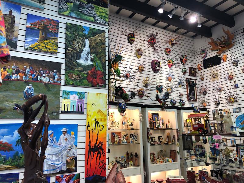 Compras de souvenir em Fortaleza