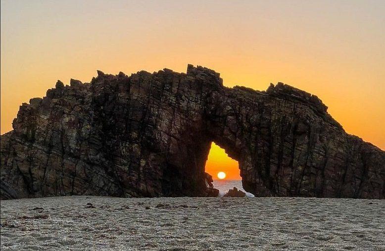 Pôr do sol em Jericoacoara