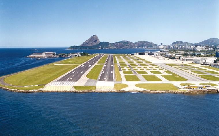 Aeroporto no Rio de Janeiro
